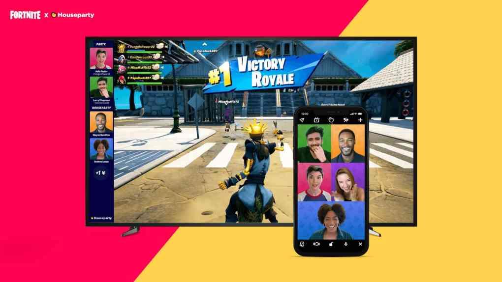 fortnite videochat stream houseparty