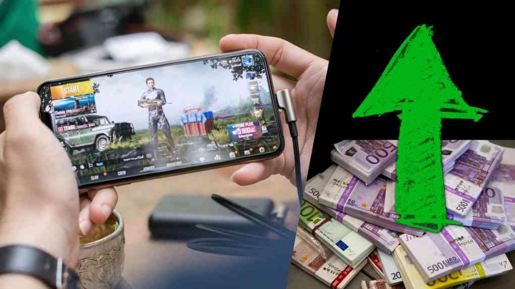 online gaming dienste umsatz interesse 2021 wachstum