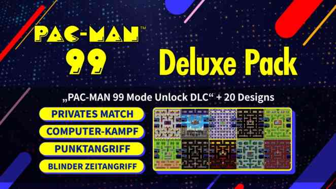 pac man 99 deluxe pack