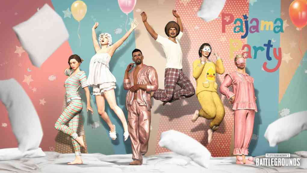 pubg pajama party