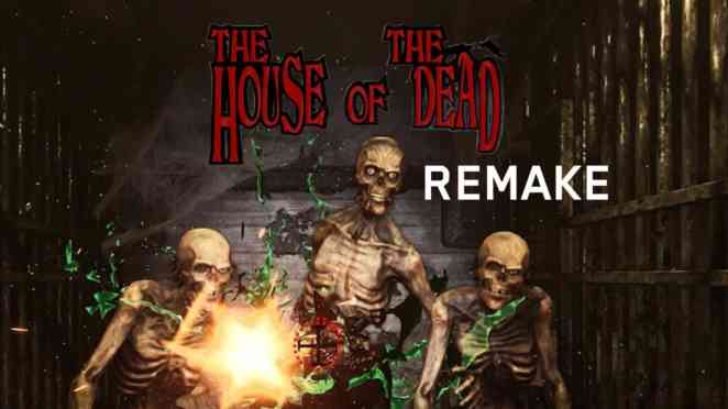 the house of the dead remake nintendo switch
