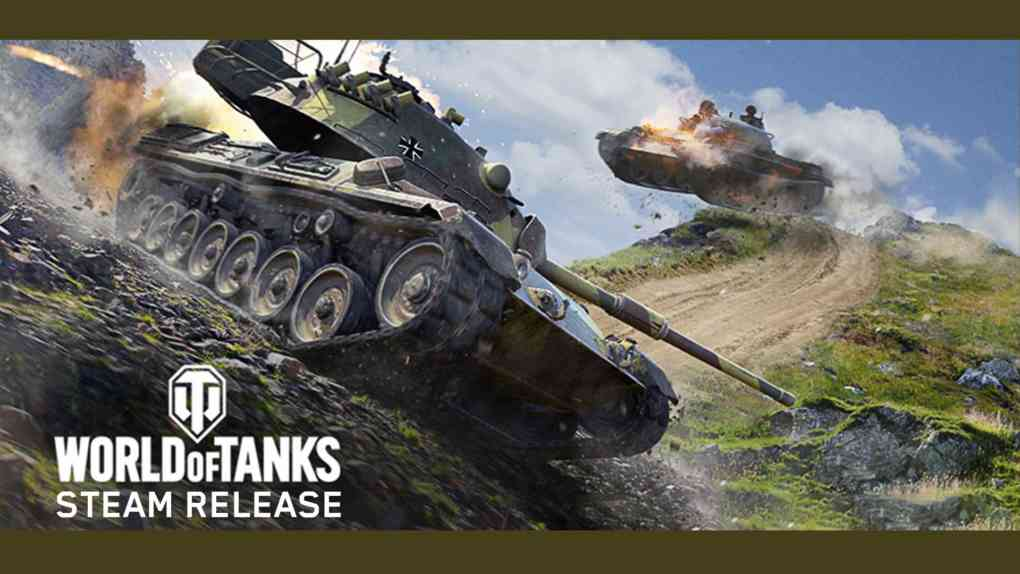 world of tank steam release