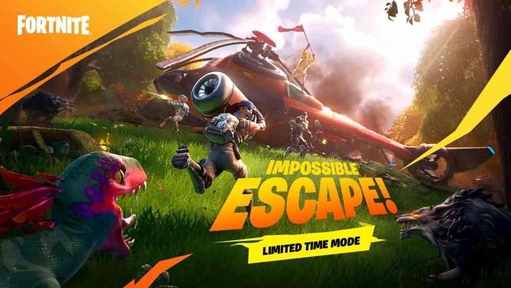 Impossible Escape LTM Trailer Fortnite 1