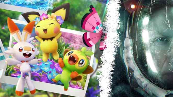 games charts pokemon snap returnal
