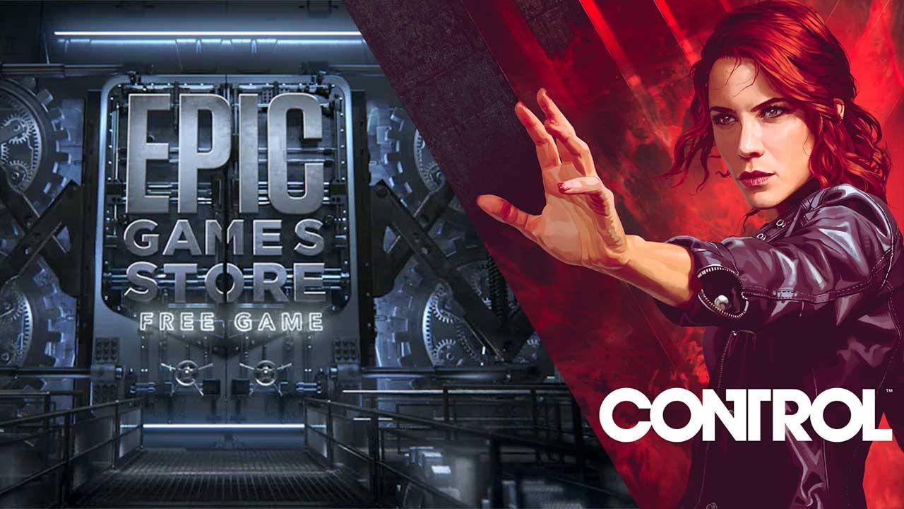 """Neues """"Geheimnisvolles Spiel"""" bei Epic: Control kostenlos"""